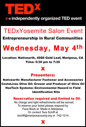 TEDx Salon ad 2 april 23