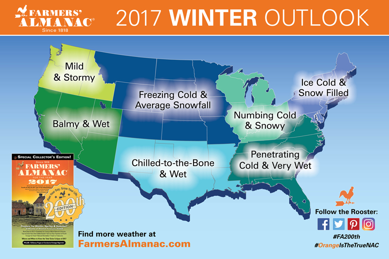 farmers almanac releases national winter 2017 winter