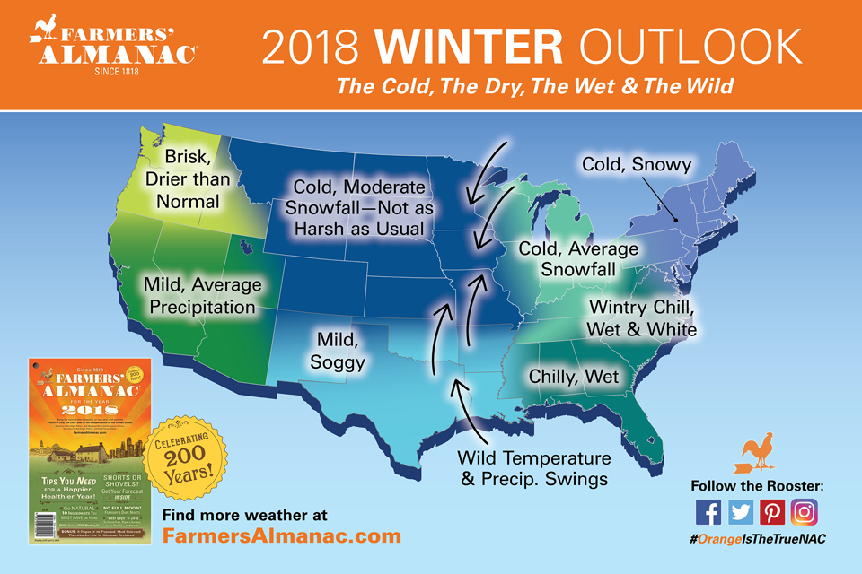 farmers almanac releases national winter 2018 winter