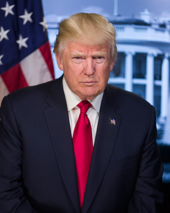 donald trump official photo