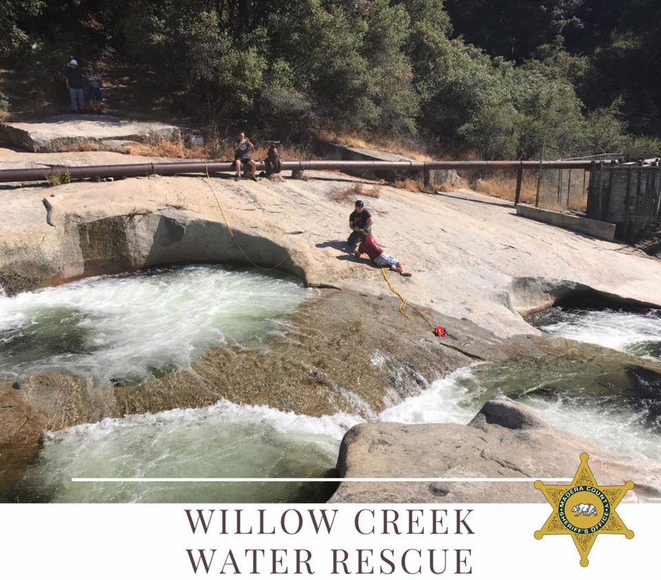 Madera County Sheriff Deputy Makes Rescue At Angel Falls