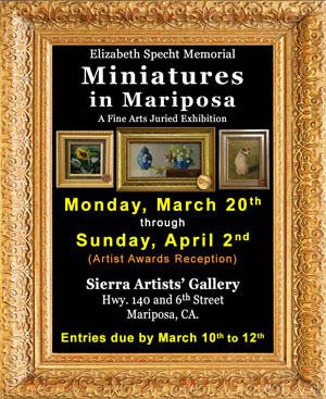 2017 Miniatures in Mariposa ad
