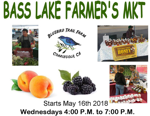 Bass Lake Farmers Market 2018