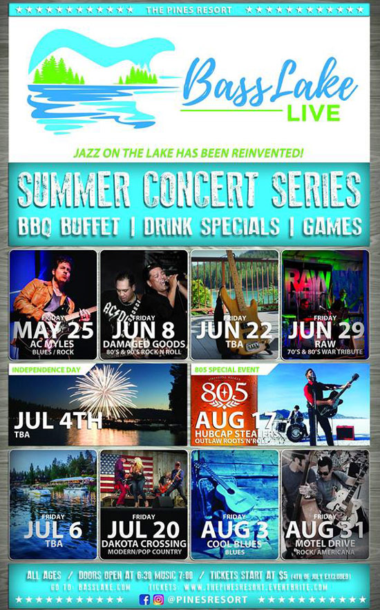 Bass Lake LIVE Summer Concerts