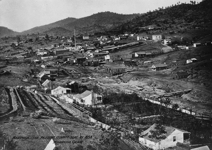 Watkins Photograph of Mariposa, California 1860