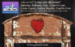 Celebrate Love and Passion with Art, Music and Spoken Word at Gallery Row in Oakhurst on February 13, 2016
