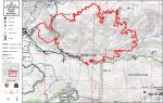 Updates on South Fork Fire in Yosemite National Park for Monday, August 21, 2017