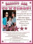 Mariposa County Fair Rodeo Royalty Applications for 2016 are Now Available