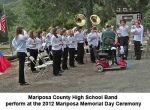 Mariposa Memories - 2012 Mariposa VFW Memorial Day Ceremony (Video)