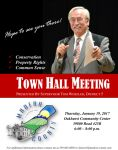 Madera County District 5 Supervisor Tom Wheeler's Rescheduled First Town Hall Meeting of 2017 to be Held on Thursday, January 19, 2017 at the Oakhurst Community Center