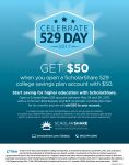 College Savings Day is Coming to Mariposa County -  Limited Time $50 Match Offer