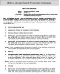 Mariposa County Historic Sites and Records Preservation Commission Agenda for Monday, February 8, 2016 - Courthouse on the Agenda