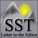 Letter to the Editor - Never Again