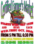 Mariposa Certified Farmers Market Open Wednesdays Through October