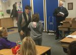 Sierra Foothill Charter School Third Graders Receive Dictionaries from Mariposa Rotary