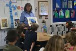 Mariposa Artist Penny Otwell Visits with Sierra Foothill Charter School Students