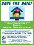 Mariposa Habitat for Humanity to Host a Birdhouse Auction Fundraiser on March 16, 2016