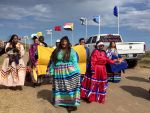 The Southern Sierra Miwuk Nation Rally and March to Support Standing Rock Sioux