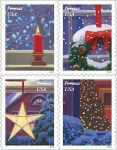 Postal Service Announces Holiday Window Views Featured on Forever Stamps