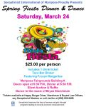 Mariposa Soroptimist to Host Spring Fiesta Dinner & Dance on Saturday, March 24, 2018