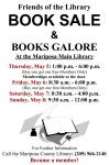 Mariposa County Friends of the Library Annual Book Sale to be Held May 5-8, 2016