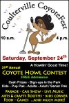 Join in the Fun at the Coulterville CoyoteFest for a Howlin' Good Time on September 24, 2016