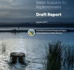 Water Scarce to Recharge California Groundwater Basins, New Report Shows