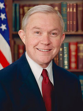jeff sessions official portrait attorney general