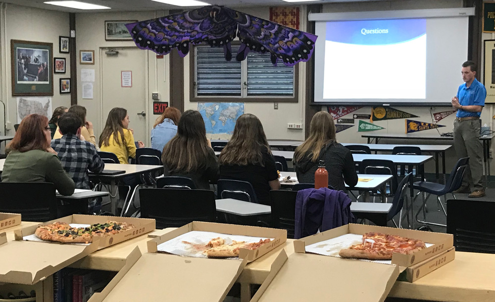 Mariposa Academic Booster Club's Career Lunch Featured Business