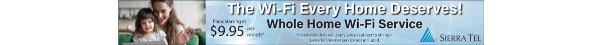 Sierra Tel Offers... Enhanced Wi-Fi Coverage for Your Home