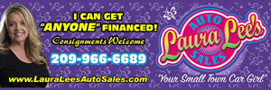 "'Click' for More Info: Laura Lee's Auto Sales in Mariposa & Oakhurst Locations… ""I can find any car you want!"""