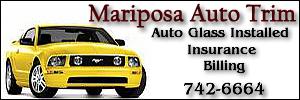 'Click' for Mariposa Auto Trim: Get Your Glass Repaired or Replaced at 'Mariposa Auto Trim' in Mariposa, California