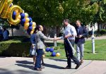 California Lt. Governor Newsom Tours Merced College