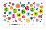 U.S. Postal Service Issues Let's Celebrate! Forever Stamp