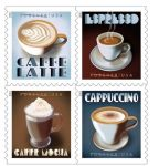 Postal Service Announces Espresso Drinks Forever Stamps Now on Sale
