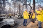 Senator Kamala D. Harris Tours Wildfire Affected Areas in Paradise California