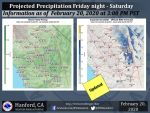 Possible Light Rain in the Forecast for Friday Night Into Saturday for Mariposa, Oakhurst and Yosemite Valley