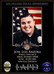 California Governor Gavin Newsom Releases Statement on Death of Los Angeles Police Officer, Jose Anzora