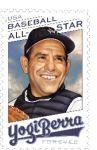 Postal Service Announces All-Star Baseball Player Yogi Berra Celebrated on Forever Stamp