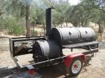 Mariposa County Sheriff's Office Seeks Public's Help in Finding Stolen Pit Smoker from Miners Mix