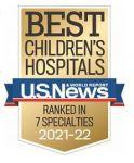 Valley Children's Ranked One of the Nation's Best Children's Hospitals in Seven Specialties