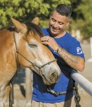 In California's Central Valley Combat Veterans Pair with Horses to Achieve Inspiring Results