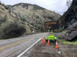 Caltrans Traffic Advisory for Highway 140 in Mariposa County from Briceburg to Sweetwater Creek: Expect 15 Minute Delays Beginning Monday, February 24