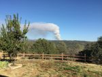 Saturday Afternoon Oak Fire in Eastern Madera County