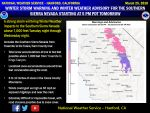 Winter Storm Warning Issued for the Southern Sierra Nevada Above 7,000 Feet from Yosemite to Kings Canyon Beginning Late Tuesday Afternoon