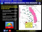 Winter Storm Warning Issued for the Southern Sierra Nevada Beginning Saturday Afternoon