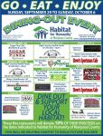 Dine-Out & Support Mariposa Habitat for Humanity September 29 Through October 6, 2019