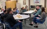Tech Careers were the Topic of Discussion at Mariposa Academic Booster Club's Career Lunch with Guests Tyler and Rebecca Shaddix