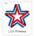 U.S. Postal Service to Dedicate Star Ribbon Forever Stamp