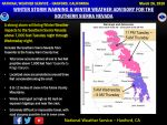 Updated Winter Storm Warning for the Southern Sierra Nevada Above 7,000 Feet from Yosemite to Kings Canyon Now Begins Late Tuesday Evening